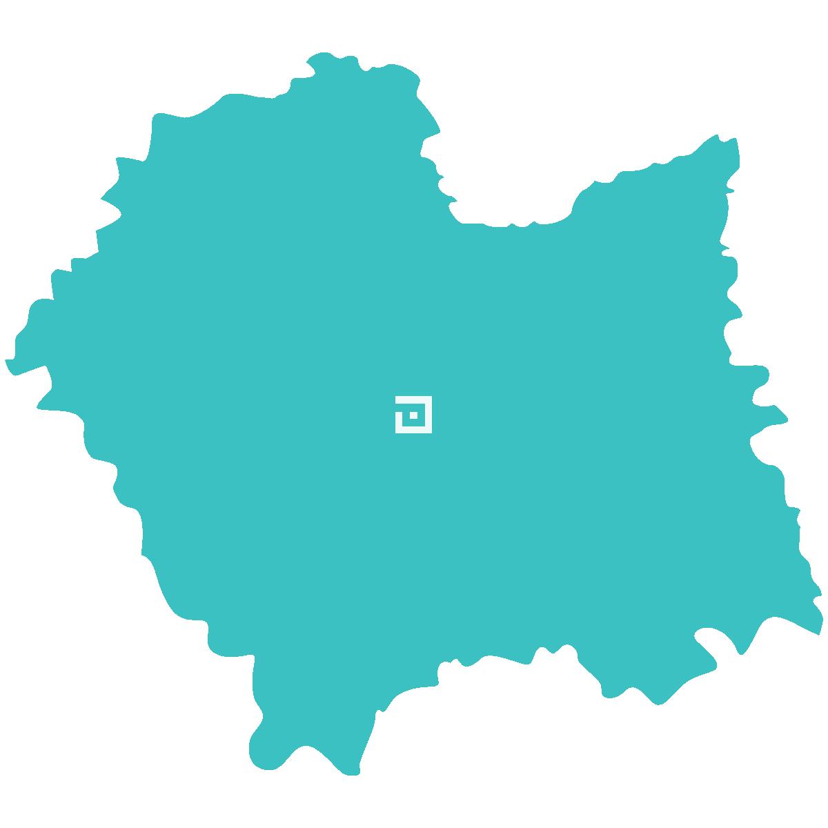 Pompy ciepła małopolskie - mapa